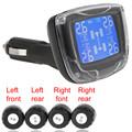 Brand New Tire Pressure Monitoring TPMS Wireless Tire Pressure Monitoring System with 4 Sensors LCD Display