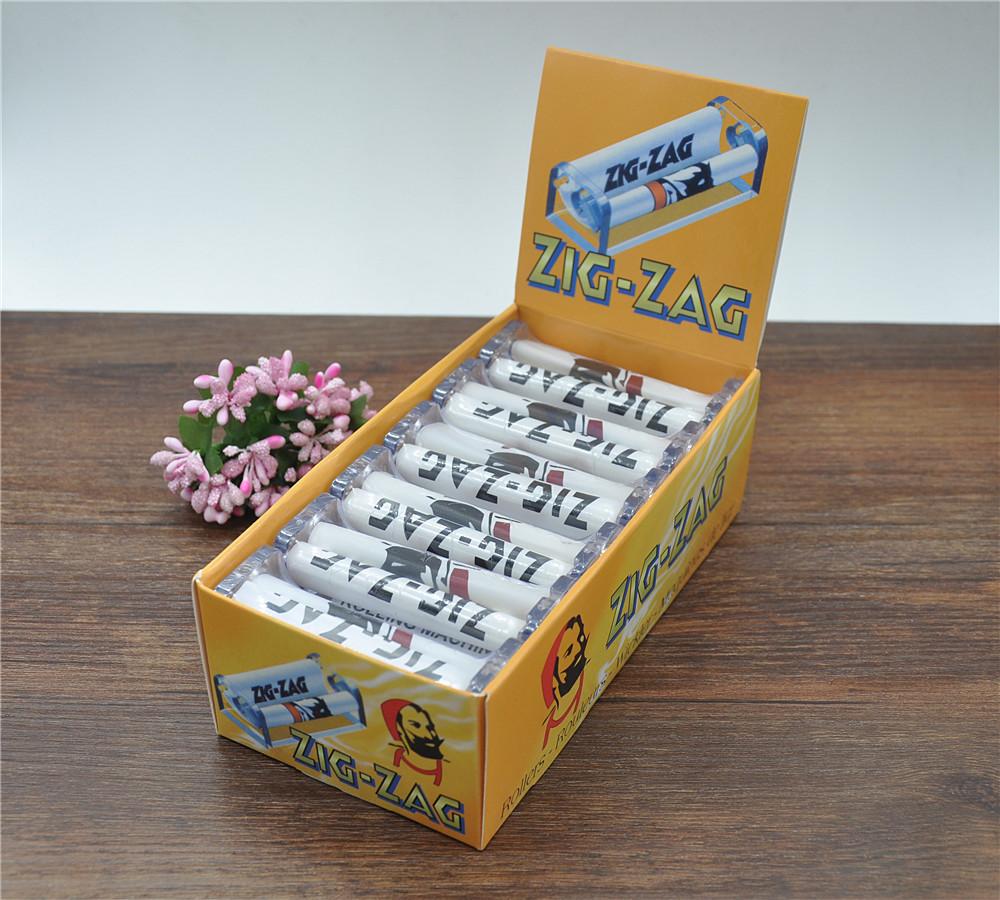 6pc 70mm plastic handleiding sigaret rollen machine tabak injector roller maker buis vullen kruid molen(China (Mainland))