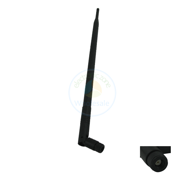 New dual band 2.4GHz 5.8ghz 9dB Wireless Antenna Booster WLAN RP-SMA WIFI Style 1(China (Mainland))