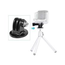 Hot Gopro Accessories Mount Black Tripod Mount Adapter For Gropro Hero 4/3+/3/2/1 sjcam sj4000 xiaomi yi accessories Wholesale