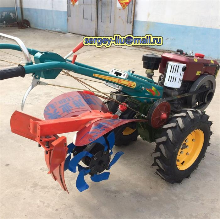 Farm Tractor With Cultivator 0.5 ton Tipper-Hopper 10/12/15 HP Walking Tractor(China (Mainland))