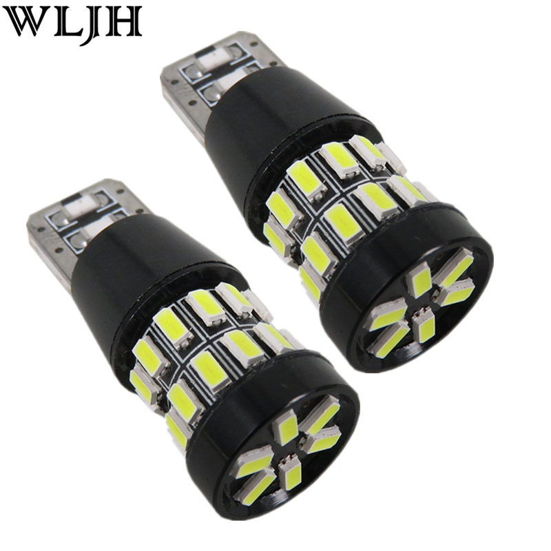 2pcs Red LED T10 T15 W5W 3014SMD Lamp 12v Car Light 3rd Brake Light Red LED High Mount Upper Center Stop Bulb Lamp Third Canbus(China (Mainland))