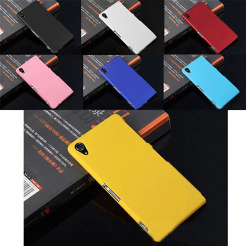 Slim Ultra Thin Pure Color Transparent Matte Hard Hybrid Shell Back Case Cover For Sony Xperia Z2 D6502 D6503 L50W(China (Mainland))