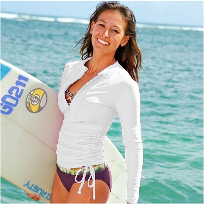 Lycra rashguard wetsuit shirt girl swimsuit nylon rashguard rash suit long sleeve swim skin women(China (Mainland))