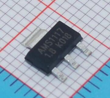 Гаджет  Free shipping 10pcs AMS1117-1.8 SOT-223 1.8V Linear Regulator LM1117 None Электронные компоненты и материалы
