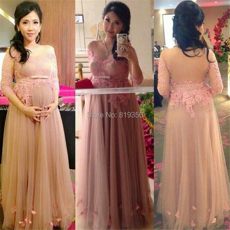 Vestido De Festa 2015 Pink vestidos noche largos barato ...