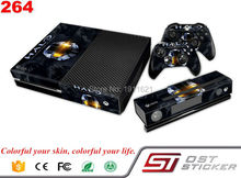 Hot Selling Products Vinly Skin Sticker For Microsoft Xbox One Console and Controller Skins Stickers For Xbox one Fast Shipping