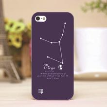 pz0001-1 Virgo Design Customized cellphone transparent case cover for iphone cases for iphone 4 5 5c 5s 6 6plus
