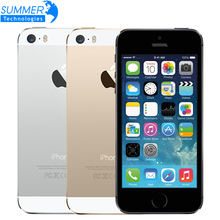 "Original Apple iPhone 5S Unlocked Mobile Phone 4.0"" IPS HD Dual Core A7 GPS iOS 8MP 16GB/32GB/64GB iPhone5S Used Smartphone(China (Mainland))"
