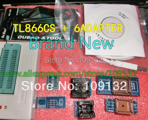 V6.5 MiniPro TL866CS Prgrammer USB Universal Programmer /Bios Programme+7 pcs free items Free Shipping(China (Mainland))
