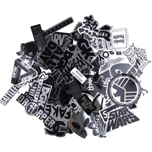 Buy 50PCS Imitation Metal Creative Stickers Skateboard Laptop Luggage Fridge Phone Home Decoration DIY Toy Sticker Repeating for $2.71 in AliExpress store