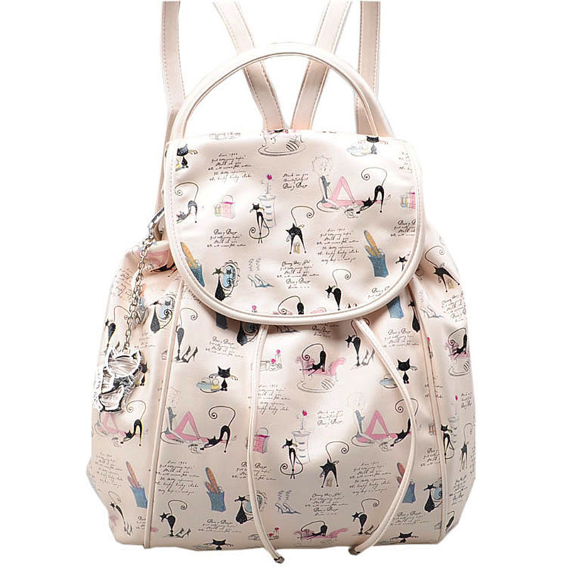 Anime Kitty Backpack Black Cat Backpack Kitty