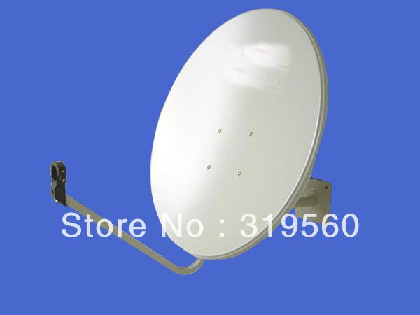 KU band satellite antenna/ satellite dish 75CM/ steel panel/wall mount KU-75-IV(China (Mainland))