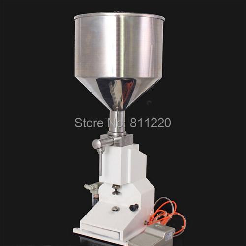 50ML pasta filling machine A02 A03 gel filling machine pneumatic filler liquids dosing filler