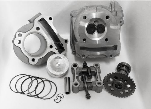 Scooter Stage 1 Performance 139QMB font b GY6 b font 100cc 50mm Big Bore Kit A9
