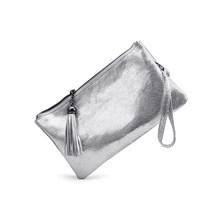 Realer vrouwen cross-body schoudertas hoge kwaliteit echt lederen tas voor dames purse en clutch luxe designer(China)