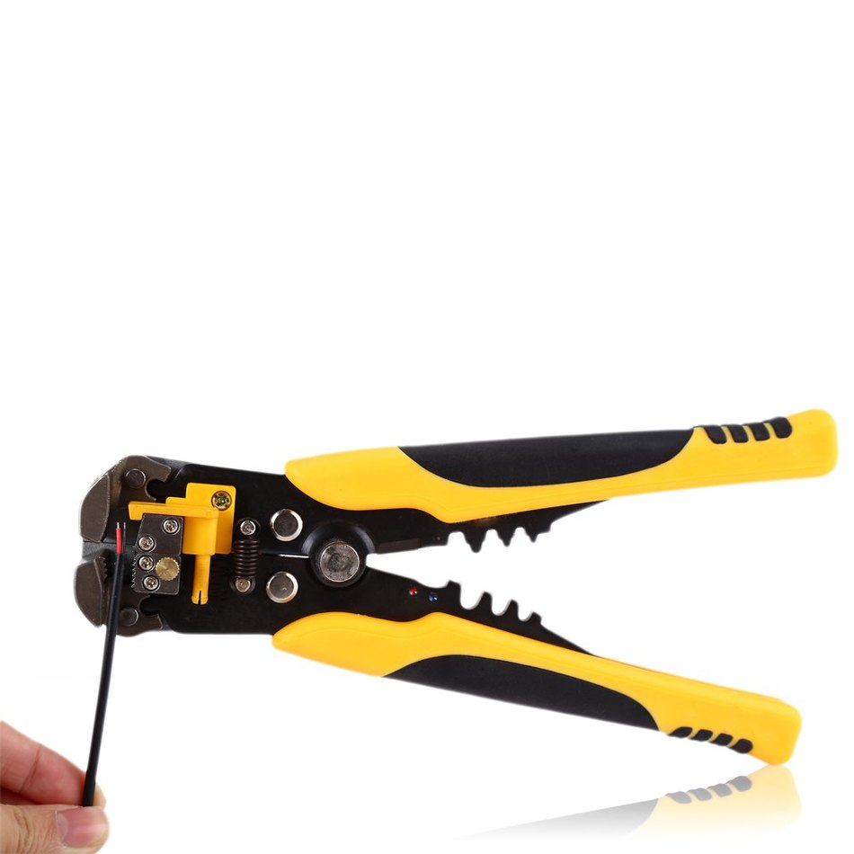 HS-D1 AWG24-10 (0.2-6.0mm2 ) design Multifunctional automatic stripping pliers Cable wire Stripping, Cutting and Crimping tools(China (Mainland))
