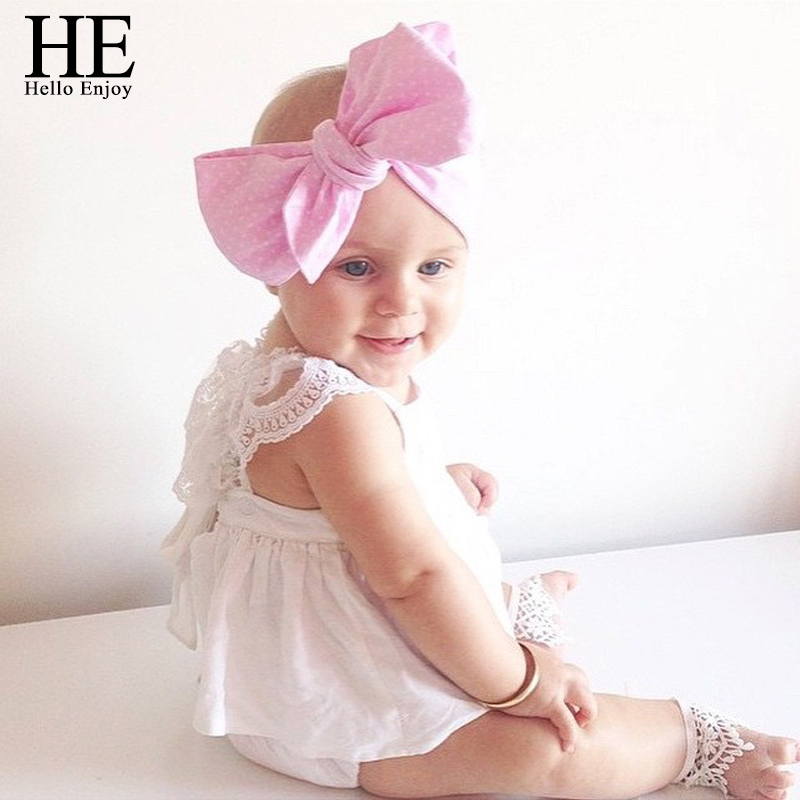 HE Hello Enjoy Girl Baby Clothes Dress summer sleeveless girls costume baby white 2016 square collar body infantil 0-24month(China (Mainland))