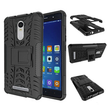 For Redmi Note 3 Case Cover 3D Armor Kickstand Hybrid Hard Luxury Phone Case for Xiaomi Redmi Note 3 Note3 Back Cover Silicone