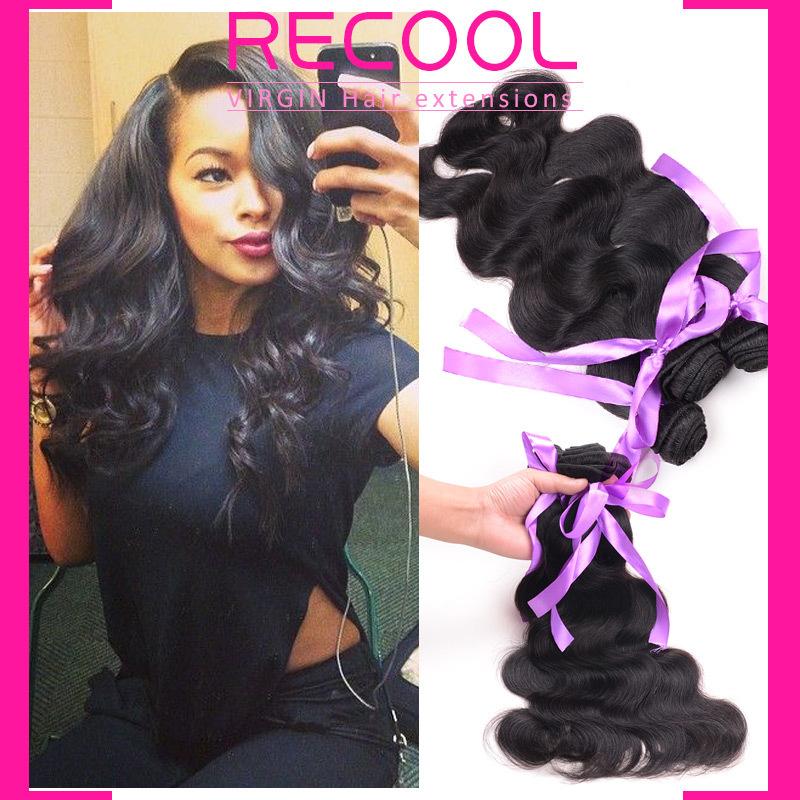 Queens Hair Products Brazilian Virgin Hair Body Wave 3Pcs Lot Virgin Brazilian Hair Weave,6A Natural Brazilian Body Wave(China (Mainland))