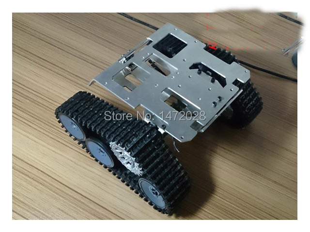 RC Tank Chassis Caterpillar walle Tractor Crawler Intelligent wall-e Robot Car Obstacle Avoidance diy rc toy remote control uno(China (Mainland))