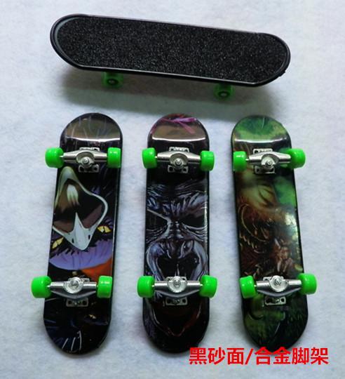 2015 random Zinc Alloy 1pc Finger Skateboard Nickel Alloy Stents Bearing Wheel Fingerboard Adult Novelty Items Children Toys(China (Mainland))