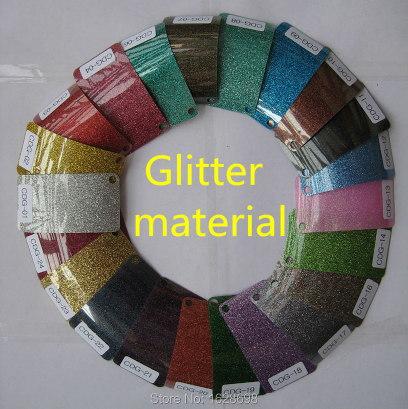 CDG-14 light green color glitter heat transfer t-shirt vinyl size 50*200cm/ LOT(China (Mainland))