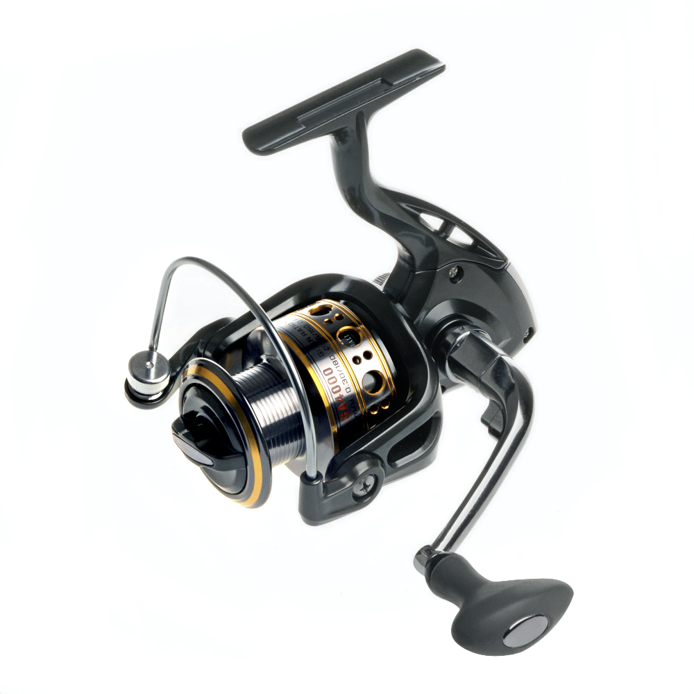 Hot Sale!!Soloplay 12+1BB Spinning Fishing Reel One-way Clutch Wheel GA Carp Ice Fishing Gear 5.5:1 Real 13BB Bait Casting Reel(China (Mainland))