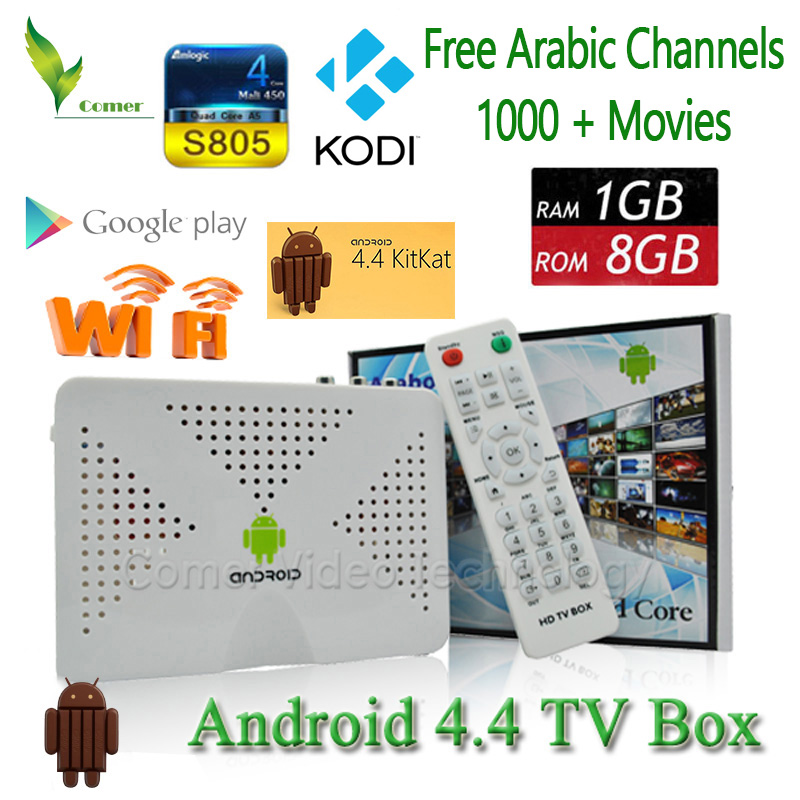 Quad core Arabic IPTV box,Android TV Box with Free Arabic channels support XBMC better than MAG250 CS918 MXV TV Box(China (Mainland))