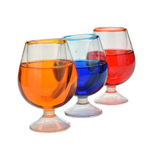 1 PCS Funny April Fool Joke Funny Gags Trick Toy Trick Wineglass Fake Goblet Random Color(China (Mainland))