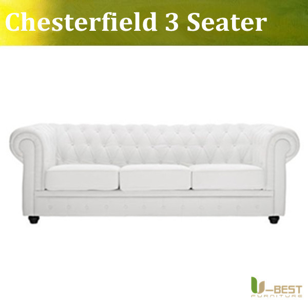 High quality Fabric Chesterfield 3 seater Sofa modern sofa(China (Mainland))