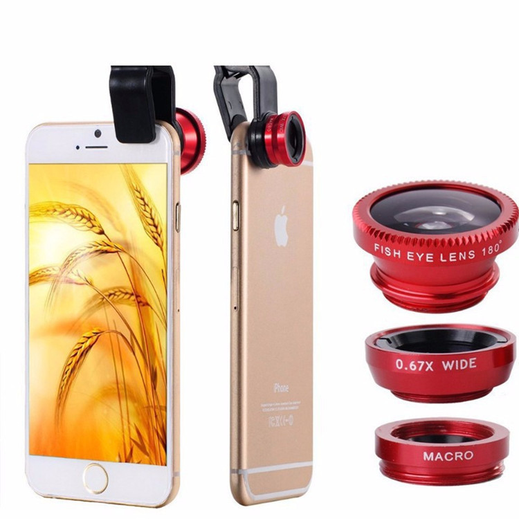Phones Accessories Leather Mobile Phone Bags Cases Fisheye Lens Coque for Iphone 5 5s 6 6s 7 Plus Iphon Galaxy Camera Case Cover(China (Mainland))