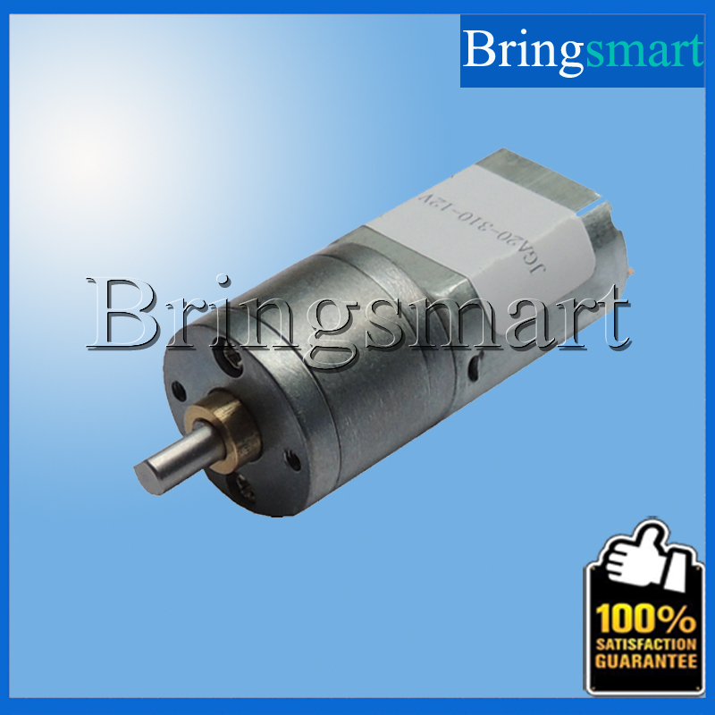 JGA20-130 6V Electric Motor 12-288rpm Low rpm Motor 12V DC Motor 0.25-4.8kg.cm 12v Motor DIY Model Wholesales(China (Mainland))