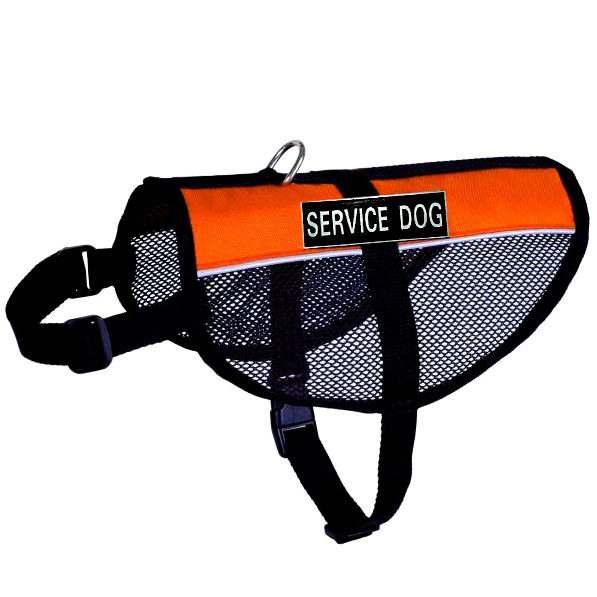 Reflective Mesh Service Dog Vest with Removable Velcro Patches Extended Sizes with 2 Free Service Dog Info Cards - Made in CHINA(China (Mainland))