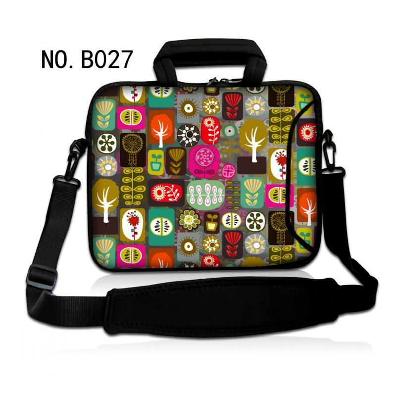 Trees Laptop Shoulder Bag Neoprene Portable Sleeve Case Waterproof Computer Handbag For 10 10.6 11.6 12 13 13.3 15 15.6 Mini PC(China (Mainland))