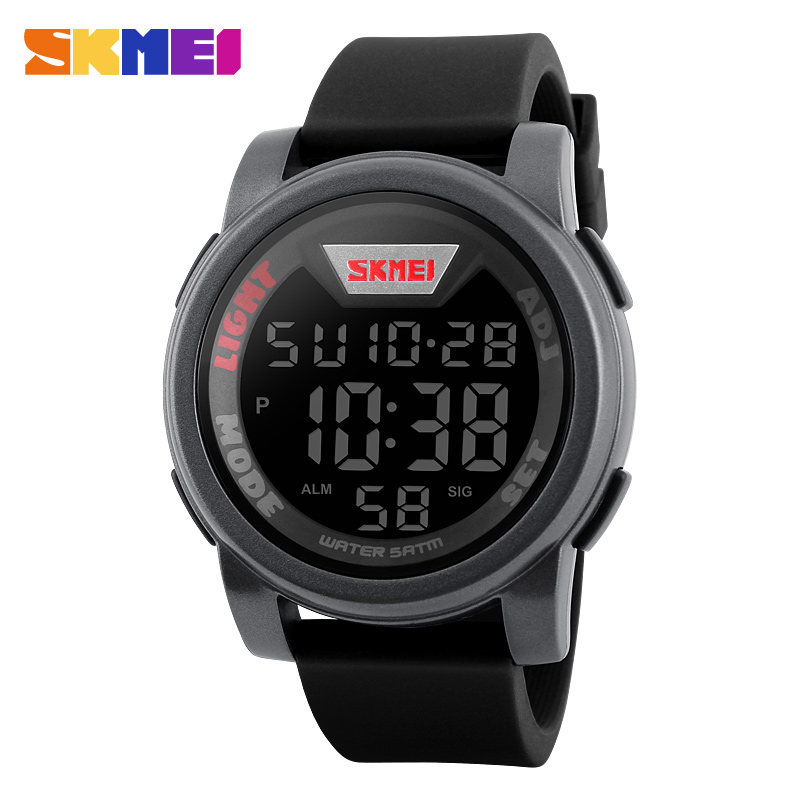 New SKMEI Brand Men And Woman Sports Watches Fashion Casual LED Digital Watch Relogio Masculino Jellies Military Wristwatch(China (Mainland))
