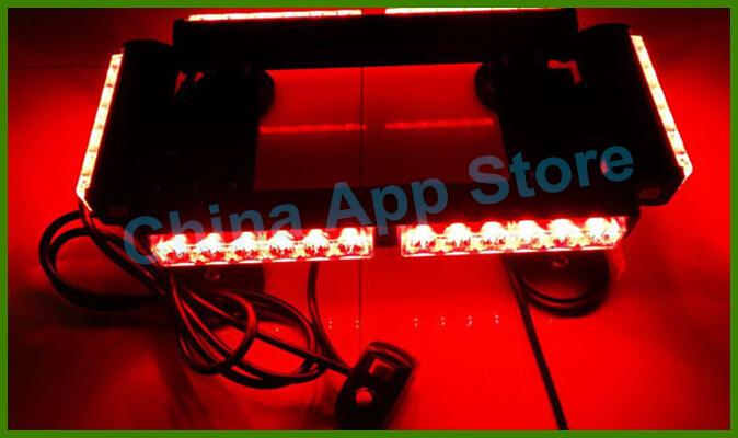 free dhl shipping high power 36led car roof long lightbar warning emergency strobe lamp mini light bar(China (Mainland))