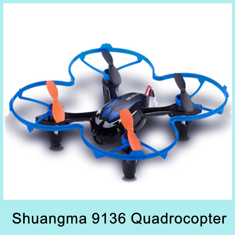 HOT Shuangma SH 9136 2.4G 4CH RC Radio Control Quadcopter Helicopter+ HD Camera Video LED light +1 GB Memory Card New Arrival(China (Mainland))