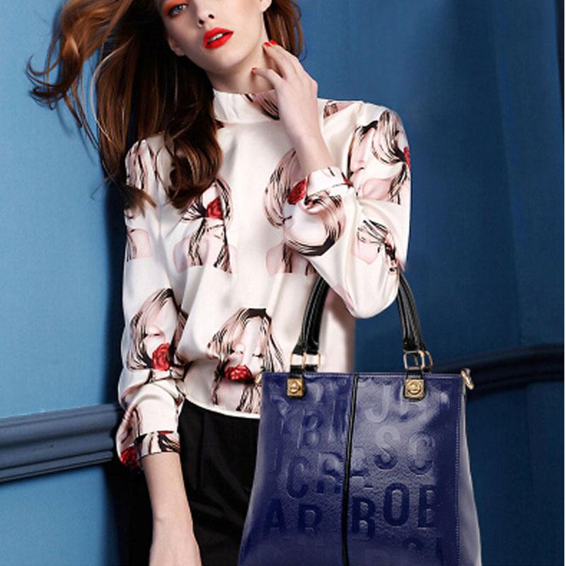New 2015 3 pcs Women Bags LadiesLeather Handbags Retro Fashion Faux Leather HandBags PU Leather Bags & Purse Sets 1STL(China (Mainland))