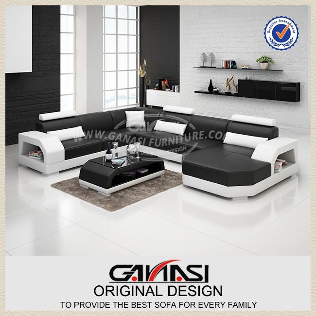 Goedkope meubels china, meubels sofa cum bed, bonded lederen sofa ...