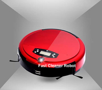 Free Shipping  2015 New Coming Robot Vacuum Cleaner With Voice Function,Schedue,LCD Screen,UV Lamp,Anti-Fall
