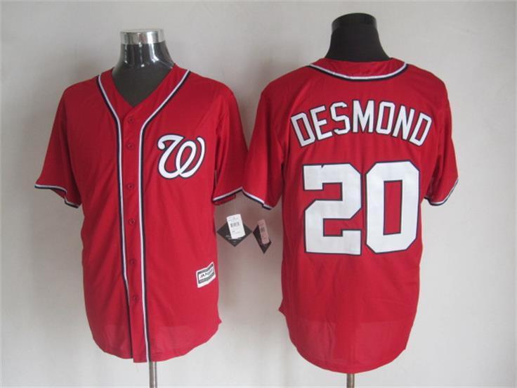 2015 Cheap Washington baseball jerseys 20 Ian Desmond Blue white stitched jersey - Sale, Top Shop store