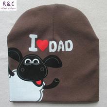 2015 Fashion Baby Boy Girls Hat Cotton Warm Winter Autumn Cap Kids Hats Beanies Pentagram sheep