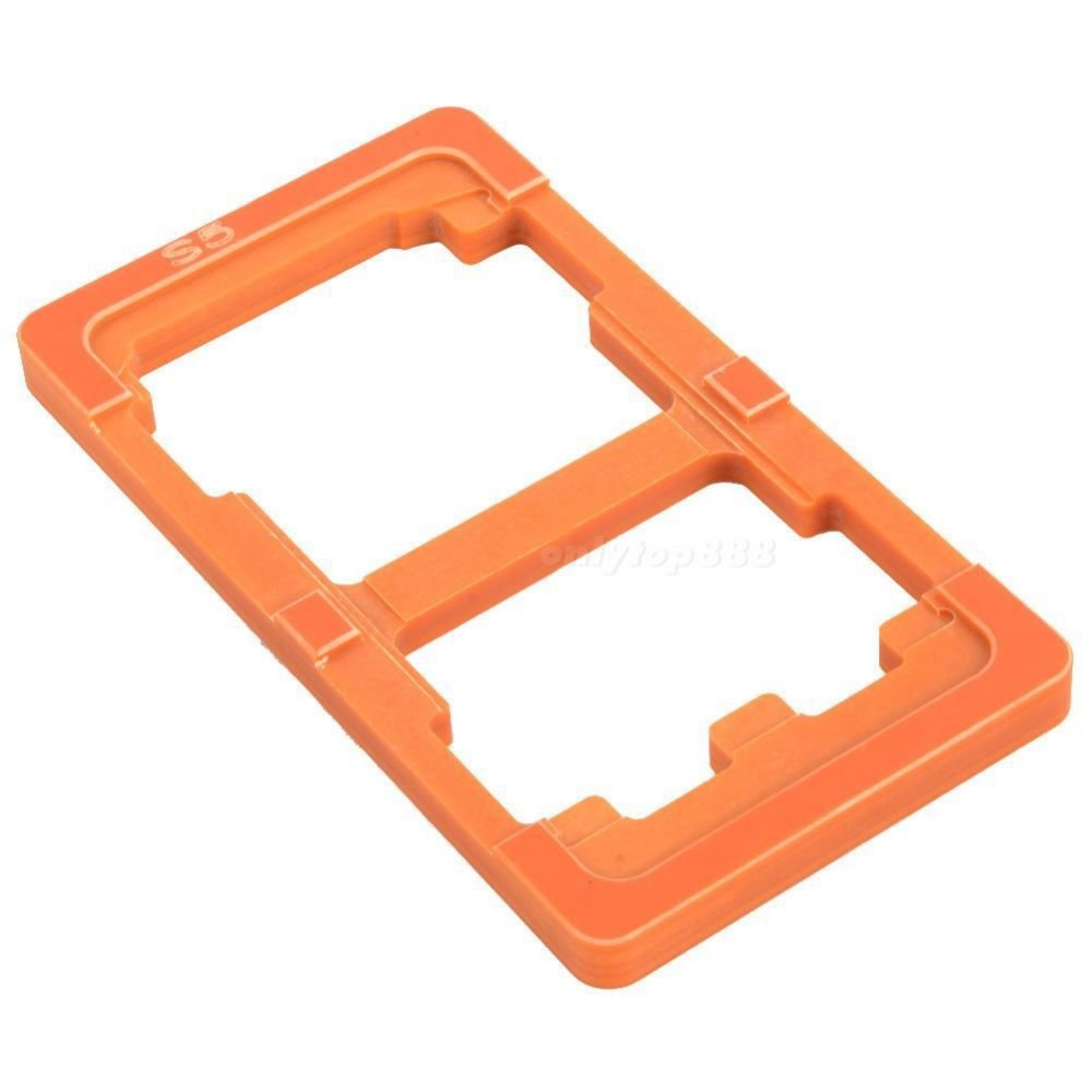 Refurbishment Glueing LCD Outer Glass Lens Touch Screen Bakelite Mould Mold For Repair tools For Samsung Galaxy S5 I9600 Holder(China (Mainland))