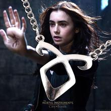 3 / pieces 2015 City of New bones Rune pendant necklace pendant necklace with US drama wholesale