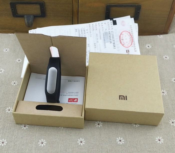 image for Original Xiaomi Mi Band Smart Miband Bracelet For Android 4.4 IOS 7.0