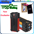Tropweiling Solar 18650 power bank box 8000mah solar battery charger solar powerbank pover bank for all phones