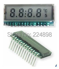 13PIN TN Positive 4-Digits Segment LCD Panel HT1621 Driver IC Without Backlight 2.5V (No HT1621)(China (Mainland))