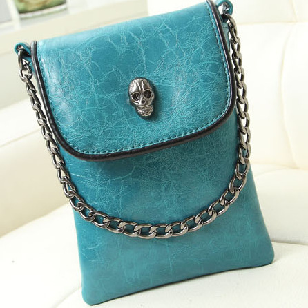 Free shipping fashion Women Messenger Bag PU Leather Envelope Shoulder Crossbody Bag Vintage Small Clutch Bag