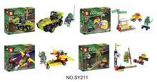 Sy211 héroe Super Avenger ensamblar bloques de construcción de Teenage Mutant Ninja Turtles Minifigure juguetes compatibles con Lego